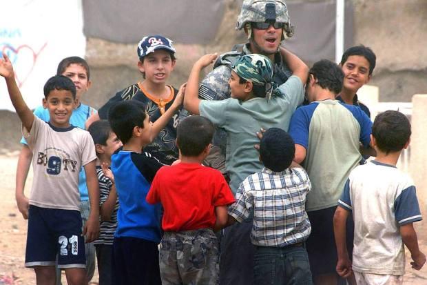 Afghan boys find a hero