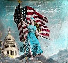 lady liberty with sword