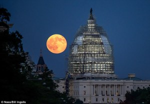 blood moon over white house