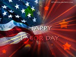 flag labor day