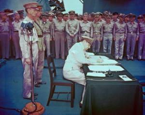japanese surrender 70 years ago