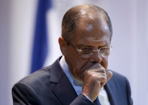 Russian Foreign Minister Sergei Lavrov attends a meeting with students on the first day of the academic year at the Moscow State Institute of International Relations (MGIMO) in Moscow, Russia, September 1, 2015. REUTERS/Sergei Karpukhin