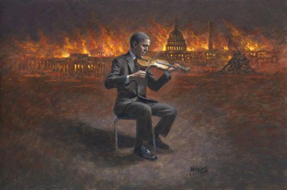 obama's titanic
