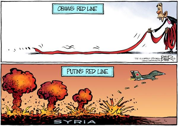 obama and putin red lines