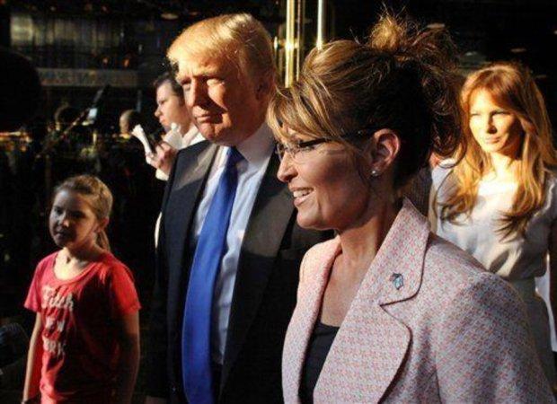 Trump Palin OK