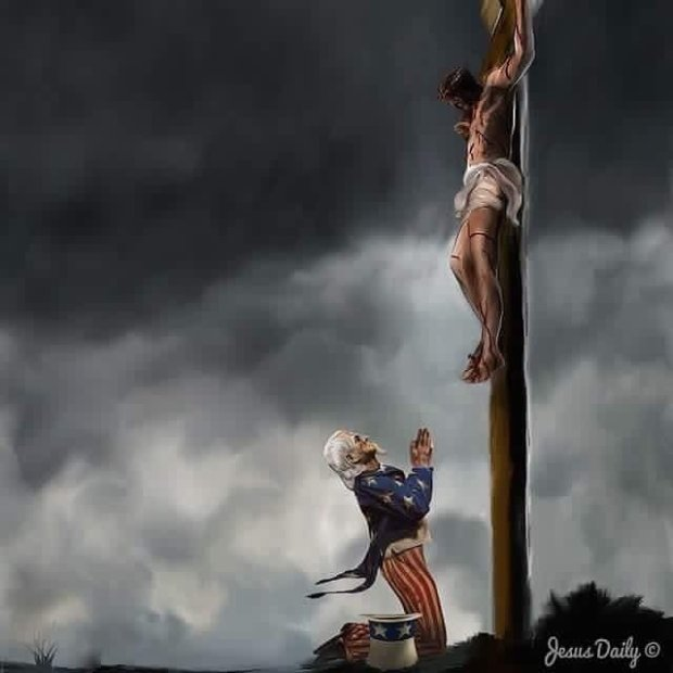 jesus-and-usa-at-the-cross