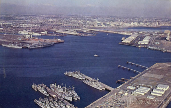 Terminal Island Naval Station Long Beach